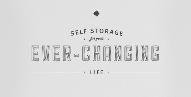 Storage For Your Life's new brand campaign positioning.